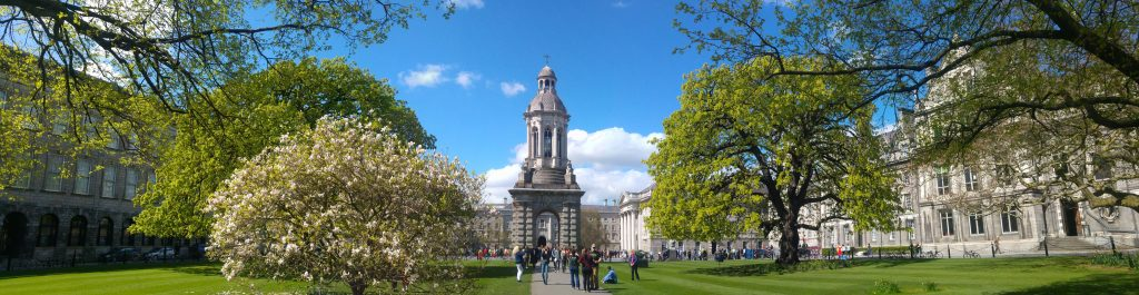 Trinity College Dublin in Spring (Home of our Recommender-Systems and Machine Learning Research)