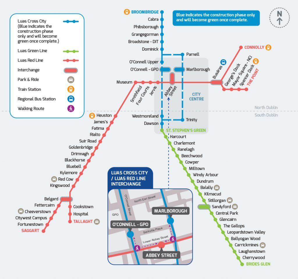 dublin public transport luas