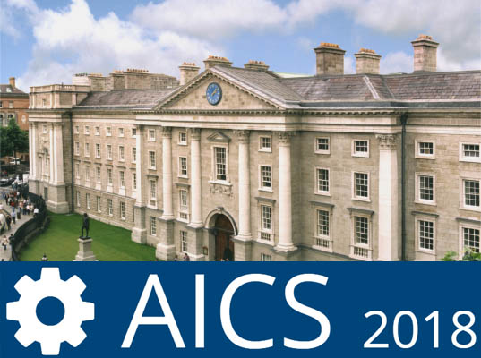 26th Irish Conference on Artificial Intelligence and Cognitive Science, hosted by Trinity College Dublin