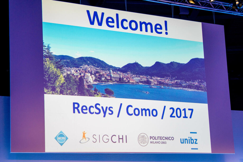Recommender Systems Conference 2017-11