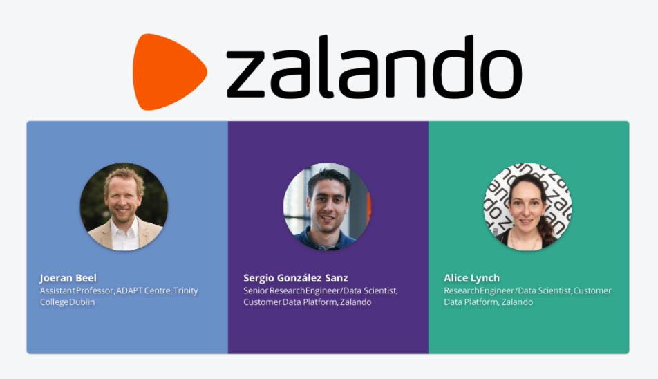 Speakers at the Machine Learning Dublin Meetup @ Zalando Ireland