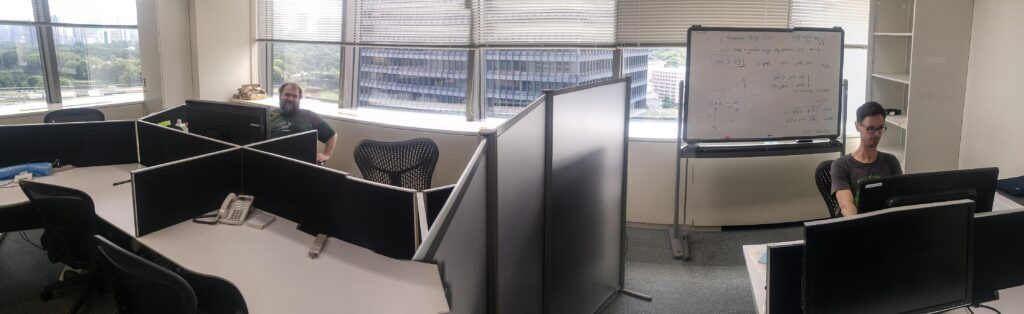 Office at the NII for Visiting Researchers e.g. in the field of recommender systems and machine learning