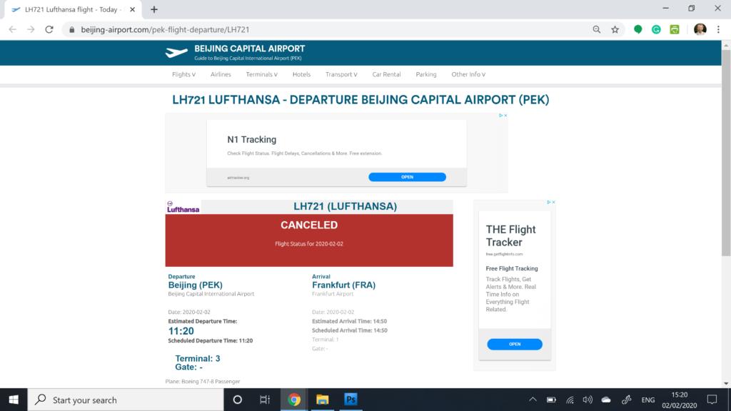 Opodo Review, Flight Cancelled Beijing Website